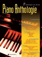 Couverture de Piano Anthologie, de Franco Concina