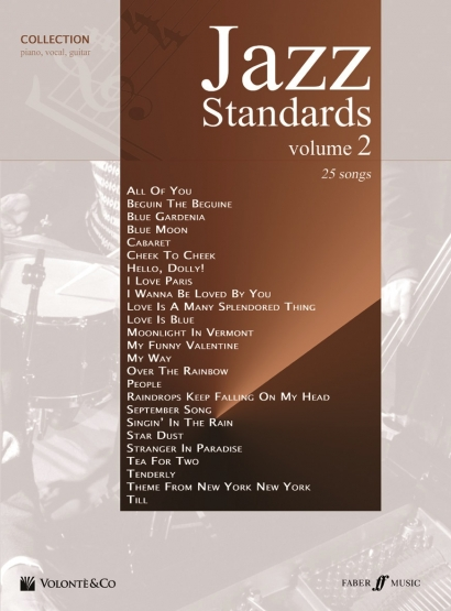 Cubierta de Jazz Standards Collection - Vol. 2