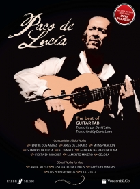 Cubierta de The Best of Paco de Lucia - Guitar TAB