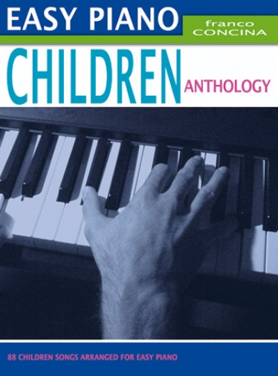 Cubierta de Easy Piano Children Anthology, de Franco Concina