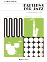 Copertina di Patterns for Jazz (Edizione italiana), di J. Coker, J. Casale, G. Campbell, J. Greene