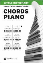 "Copertina di ""Little Dictionary Chords Piano"" di Pierangelo Valentini"