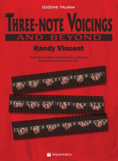 Copertina di Three-Note Voicings Edizione Italiana, di Randy Vincent