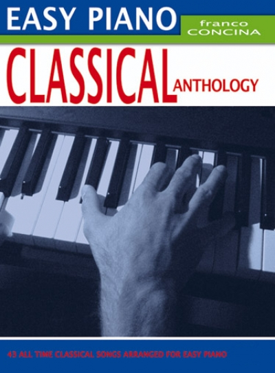 Cubierta de Easy Piano Classical Anthology, de Franco Concina