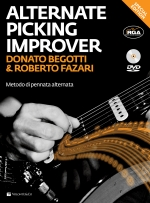 Copertina di Alternate Picking Improver, di Donato Begotti, Roberto Fazari