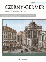 Couverture de Selected Piano Studies, de Carl Czerny