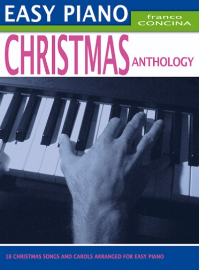 Cubierta de Easy Piano Christmas Anthology, de Franco Concina