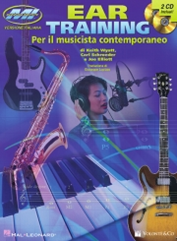 Copertina di Ear Training (Edizione italiana), di Keith Wyatt, Carl Schroeder, Joe Elliott