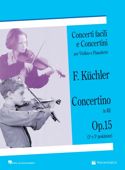 Concerti Facili e Concertini per Violino e Pianoforte - Concerto in Re