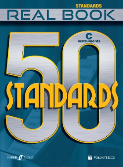 Copertina di 50 Standards – Real Book – Strumenti in Do , di AA.VV.