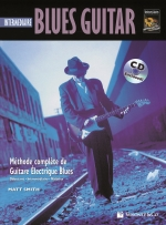 Cubierta de Blues Guitar Intermediare, de Matt Smith