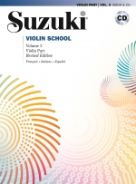 Couverture de Suzuki Violin School Vol. 3 – Avec CD  , de Shinichi Suzuki