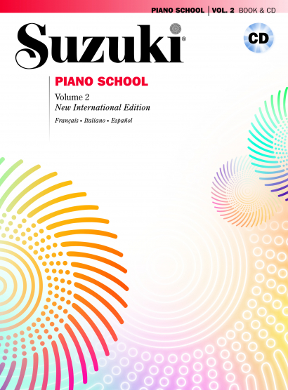 Copertina di Suzuki Piano School Vol. 2 – Con CD, di Shinichi Suzuki