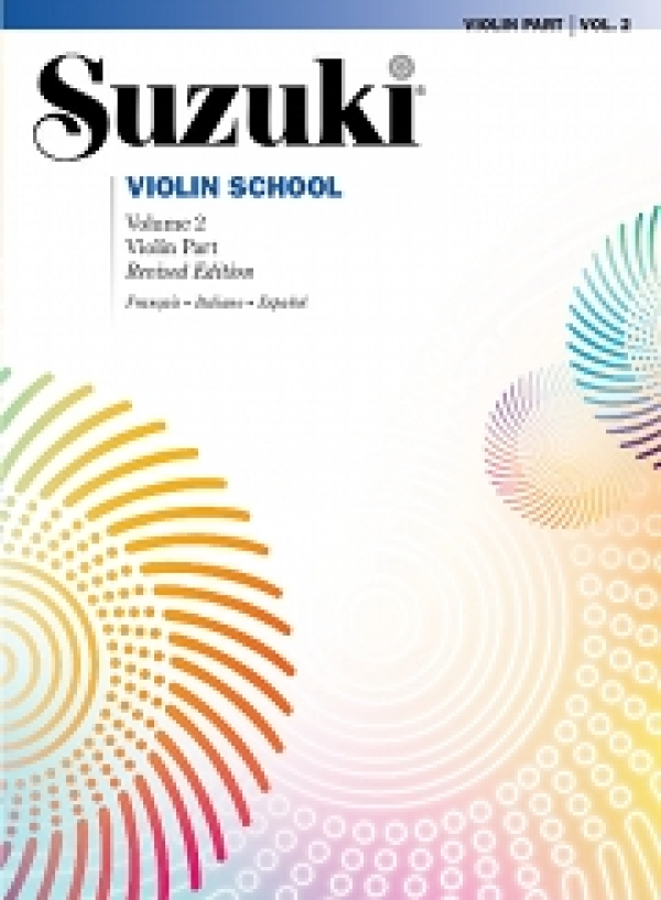 Copertina di Suzuki Violin School Vol. 2, di Shinichi Suzuki