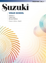 Copertina di Suzuki Violin School Vol. 4, di Shinichi Suzuki
