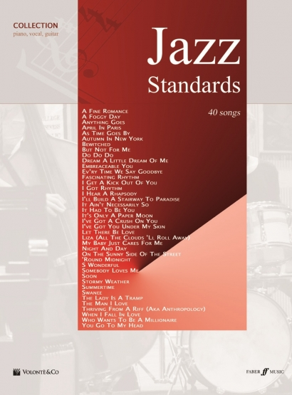Cubierta de Jazz Standards Collection