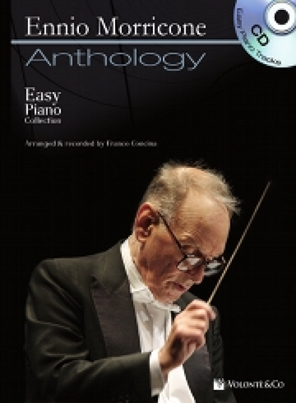 Copertina di Morricone Piano Anthology, di Franco Concina