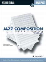 Copertina di Jazz Composition - Teoria e Pratica, di Ted Pease