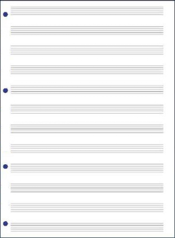 96 pagine musica formato a4 for Fogli da colorare e stampare