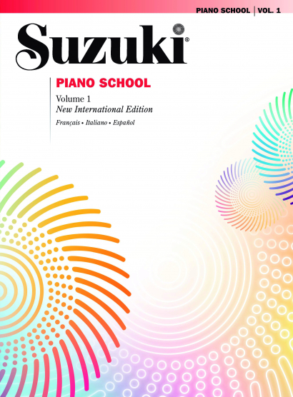 Couverture de Suzuki Piano School Vol. 1, de Shinichi Suzuki