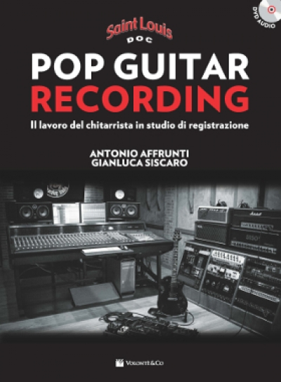 Copertina di Pop Guitar Recording – Saint Louis, di Antonio Affrunti, Gianluca Siscaro