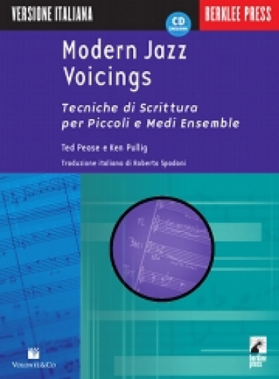 Copertina di Modern Jazz Voicings, di Ted Pease, Ken Pullig