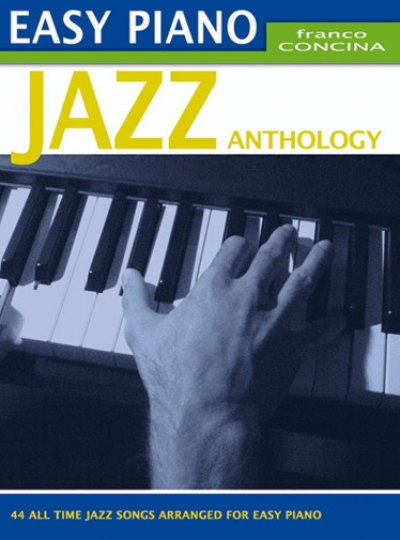 Cubierta de Easy Piano Jazz Anthology, de Franco Concina