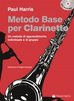 Copertina di Metodo Base per Clarinetto, di Paul Harris