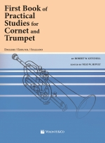 Copertina di Firts Book of Practical Studies for Cornet and Trumpet, di Robert W. Getchell