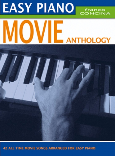 Cubierta de Easy Piano Movie Anthology, de Franco Concina