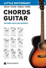 "Copertina di ""Little Dictionary Chords Guitar"" di Pierluigi Bontempi"