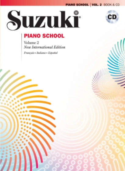 Cubierta de Suzuki Piano School Vol. 2 - Con CD, de Shinichi Suzuki
