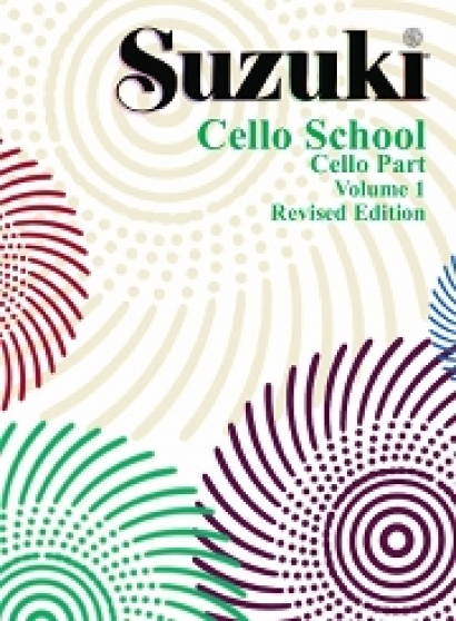 Cubierta de Suzuki Cello School Vol. 1 Revised Edition , de Shinichi Suzuki