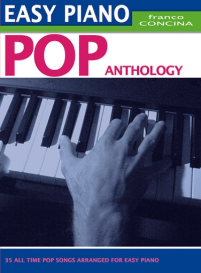 Cubierta de Easy Piano Pop Anthology, de Franco Concina