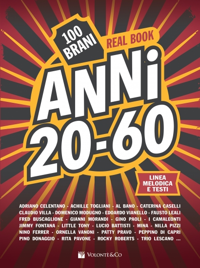Anni 20-60 - Real Book
