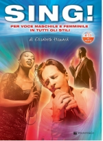 Copertina di Sing! - Testo in Italiano - Con 1 Dvd e 4 Cd in Inglese, di Elisabeth Howard