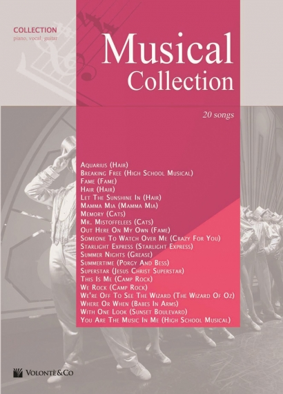 Copertina di Musical Collection  , di AA.VV.