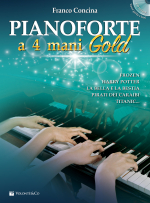 Pianoforte A 4 Mani Gold (con CD)