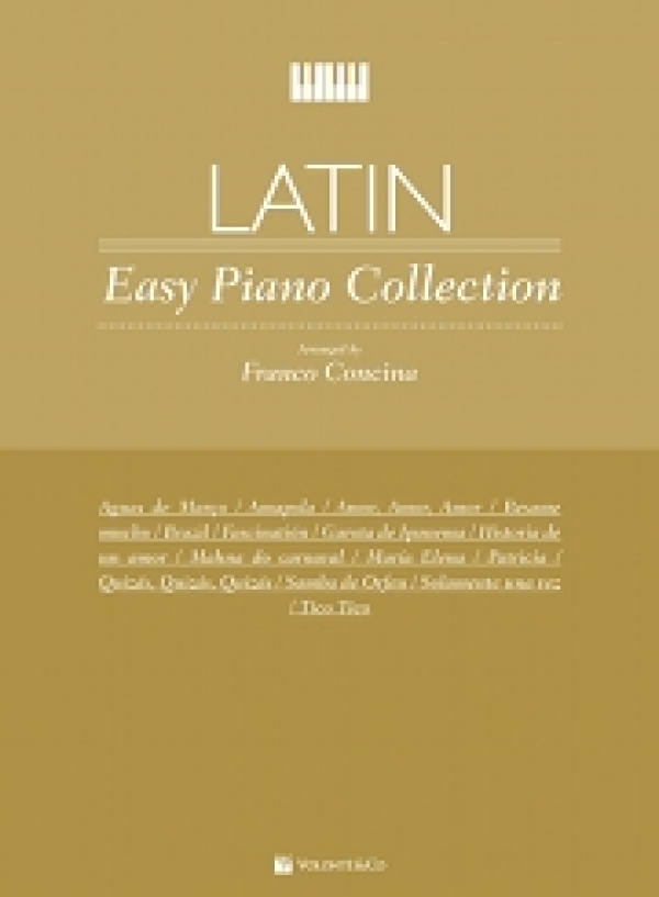 Cubierta de Primi Tasti Latin – easy Piano Collection, de Franco Concina