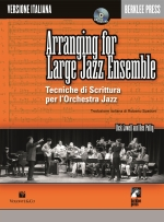 Copertina di Arranging for Large Jazz Ensemble (Edizione italiana), di Dick Lowell, Ken Pullig