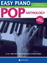 Copertina di Easy Piano Pop Anthology, di Franco Concina
