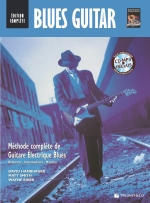 Cubierta de Blues Guitar Édition Complète, de David Hamburger, Matt Smith, Wayne Riker