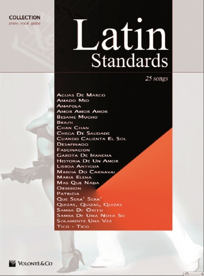 Couverture de Latin Standards Collection, différents artistes