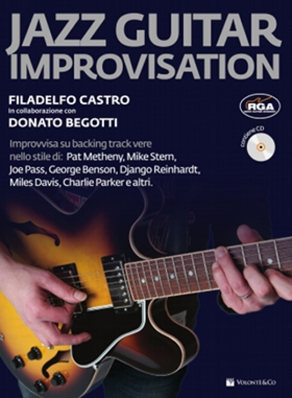 Jazz Guitar Improvisation (con CD)