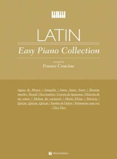 Copertina di Primi Tasti Latin – easy Piano Collection, di Franco Concina