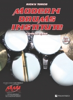 Copertina di Modern Drums Institute, di Ricky Turco