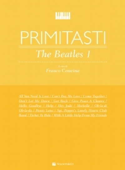 Cubierta de Primi Tasti -The Beatles Vol.1, de Franco Concina